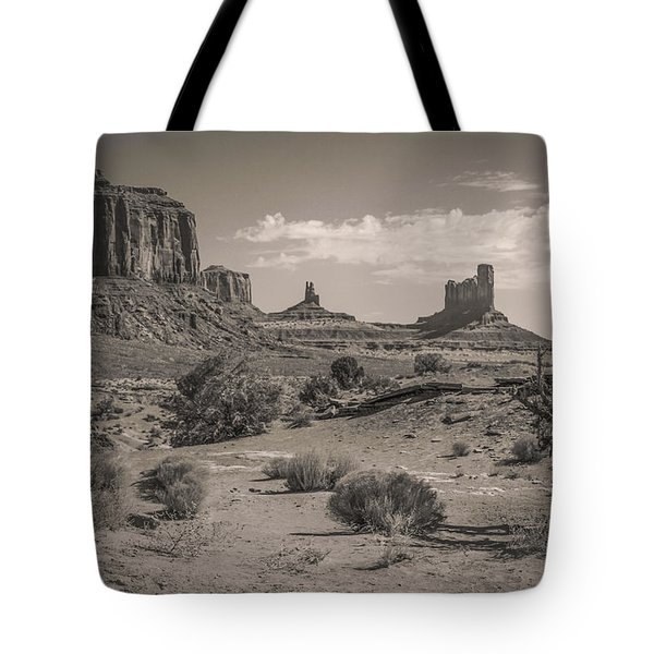 #3326 - Monument Valley, Arizona Tote Bag