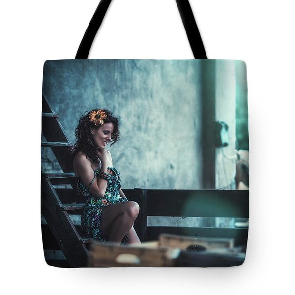 Tote Bag featuring the photograph ... by Traven Milovich