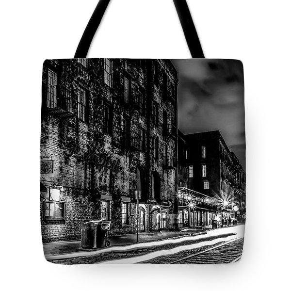 Savannah Georgia Waterfront And Street Scenes  Tote Bag