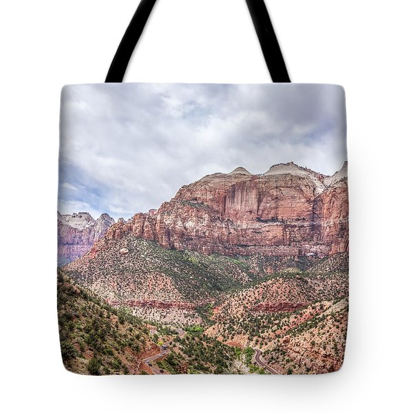 Zion Canyon National Park Utah Tote Bag