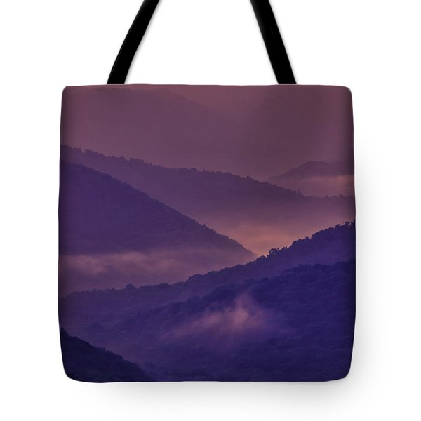 Allegheny Mountain Sunrise Two Tote Bag