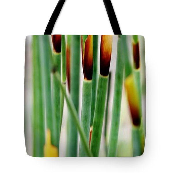 Tote Bag featuring the photograph Bamboo Grass by Werner Lehmann