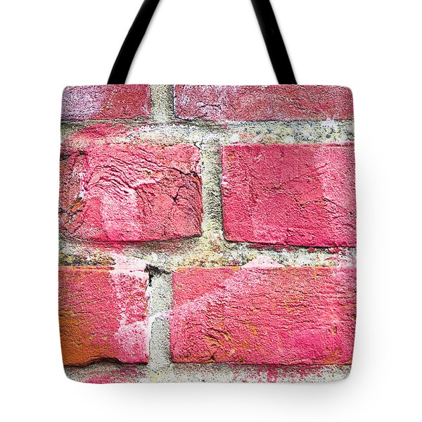 Brick Wall Tote Bag