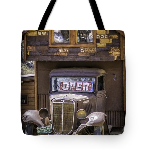35 Harvester  Tote Bag