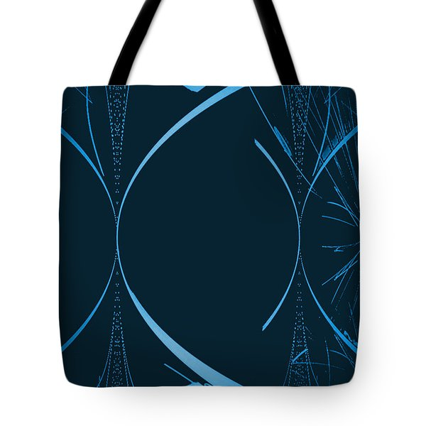 35 In Blue Tote Bag