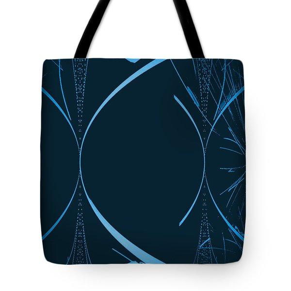 35 In Blue Tote Bag