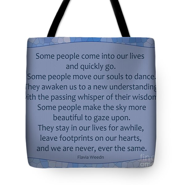 35- Some People Tote Bag by Joseph Keane