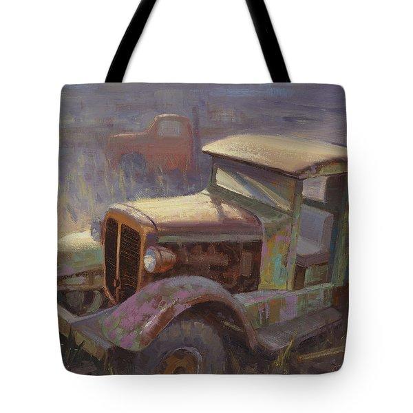 36 Corbitt 4x4 Tote Bag