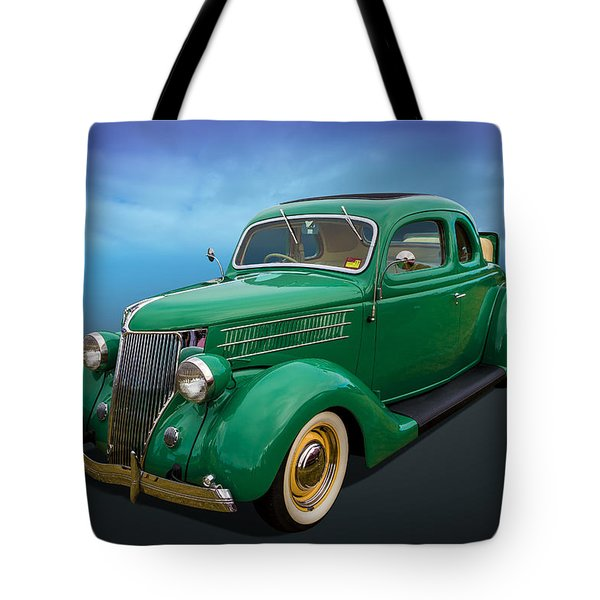 Tote Bag featuring the photograph 36 Ford by Keith Hawley