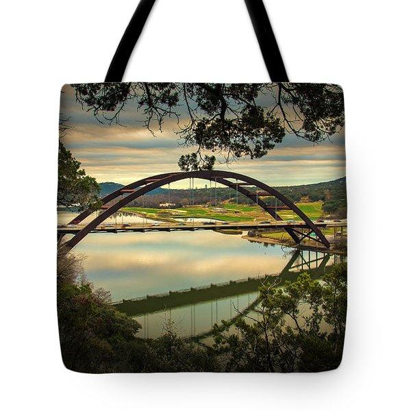 360 Bridge Tote Bag