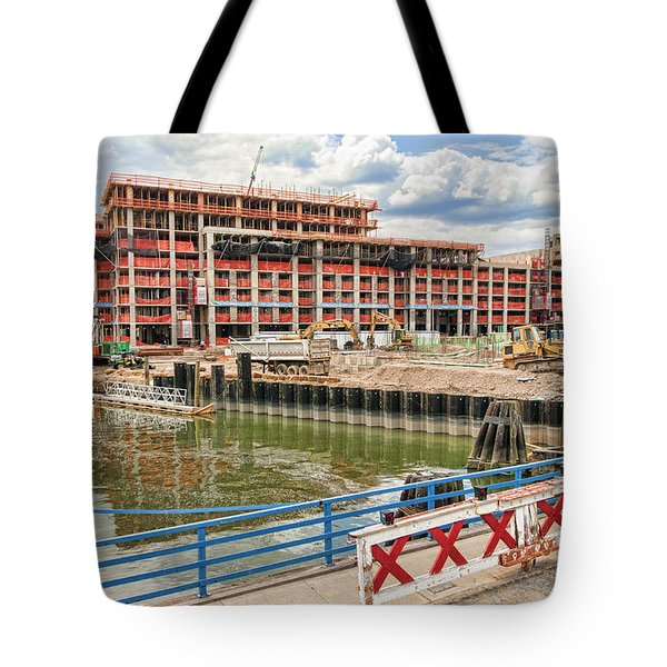 Tote Bag featuring the photograph 365 Bond 2 by Steve Sahm