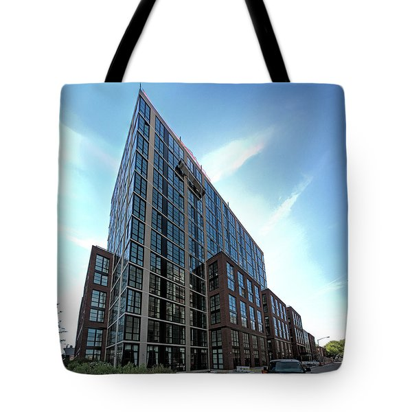 Tote Bag featuring the photograph 365 Bond Nw May 2016 by Steve Sahm
