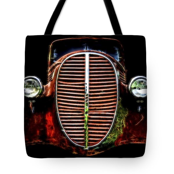 37 Chevy Tote Bag