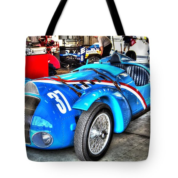 Delahaye Fast From The Front Tote Bag