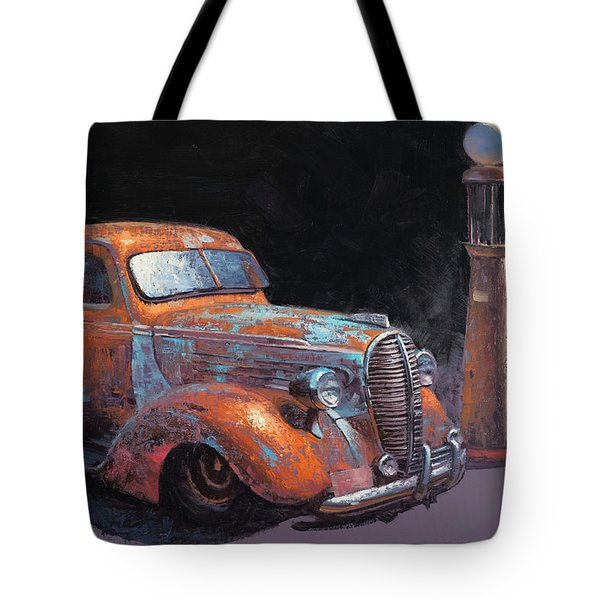38 Fat Fender Ford Tote Bag
