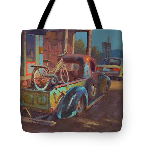 38' Ford In Jerome, Az Tote Bag