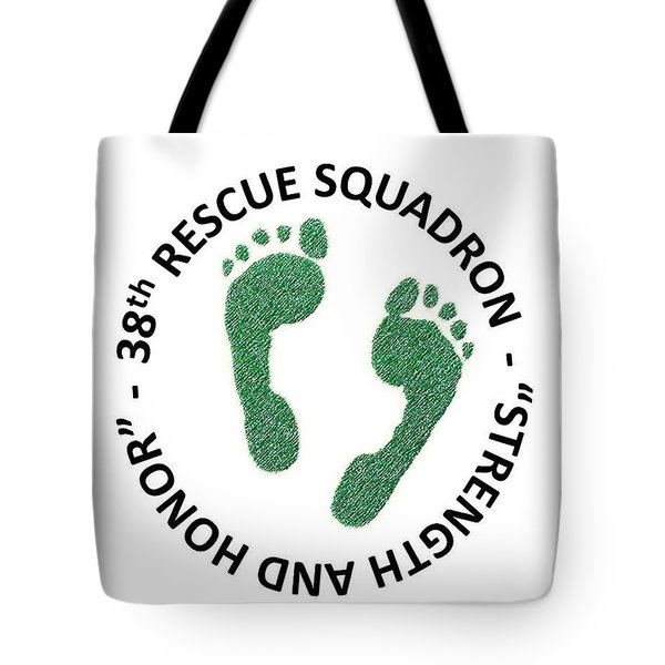 38th Rescue Squadron Tote Bag