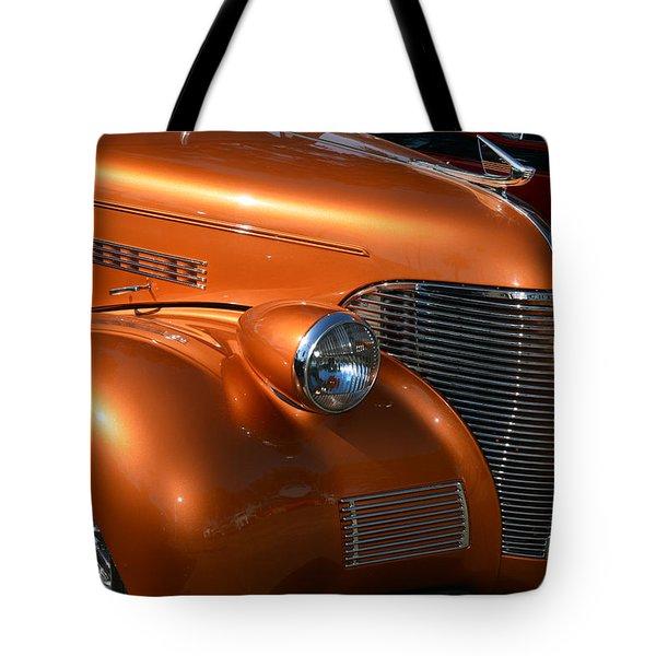 39 Chev Nose Detail Tote Bag