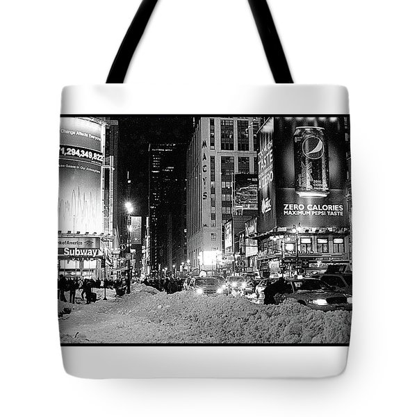 39th Ave Winter Tote Bag