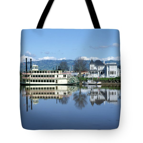 3b6380 Petaluma Queen Riverboat Tote Bag