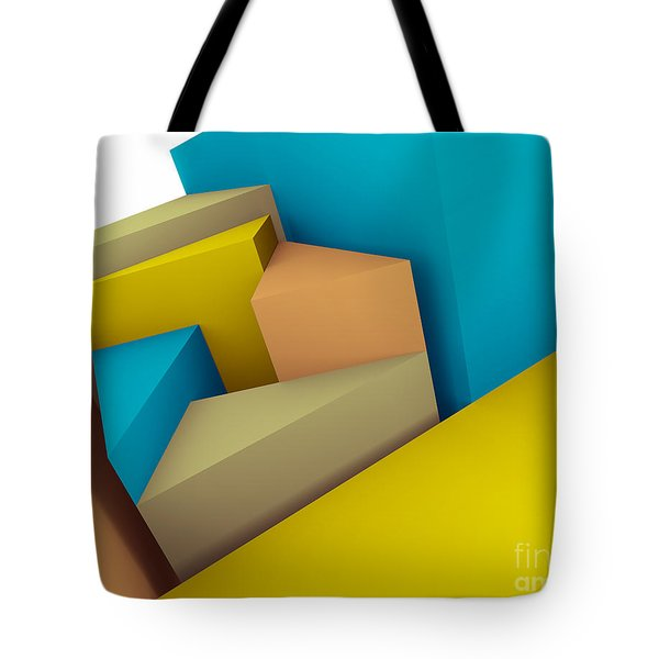 3d Abstraction  Tote Bag