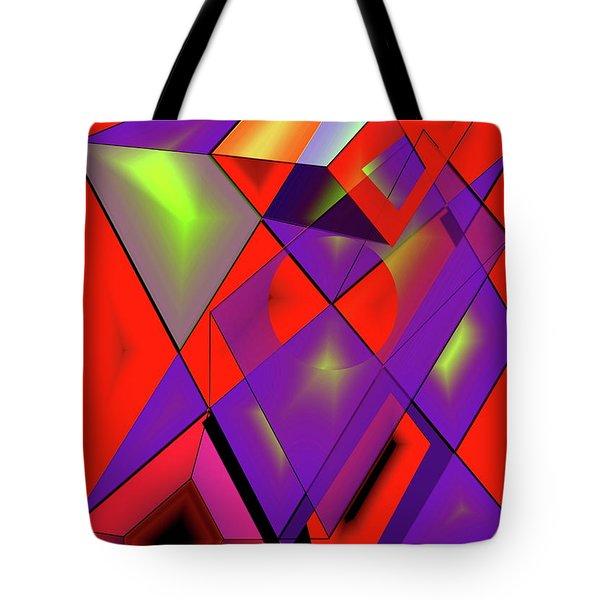 3d-cubes Tote Bag by Helmut Rottler