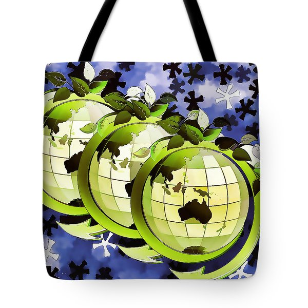 3d Render Of Planet Earth 16 Tote Bag by Lanjee Chee