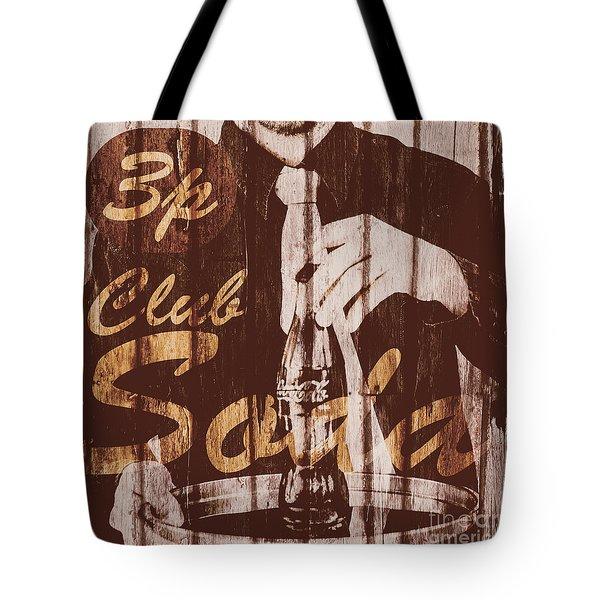 3p Club Soda Tote Bag