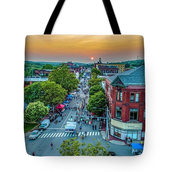 3rd Thursday Sunset Tote Bag