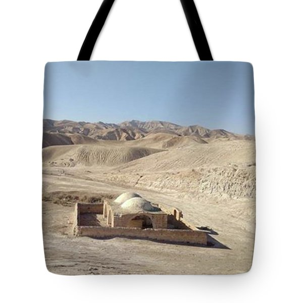 Temple For Water Tote Bag