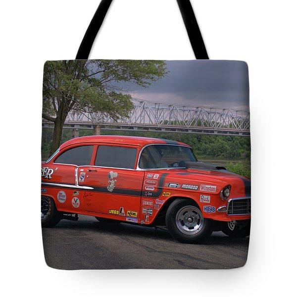 1955 Chevrolet Tote Bag