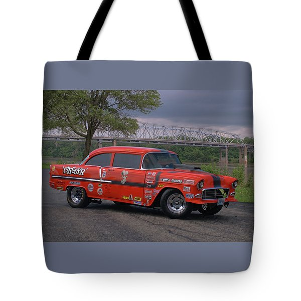 1955 Chevrolet Tote Bag by Tim McCullough