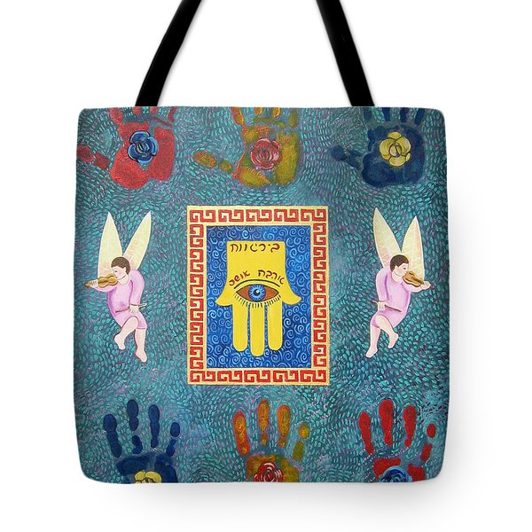 A Lesson In Symmetry Tote Bag by John Keaton