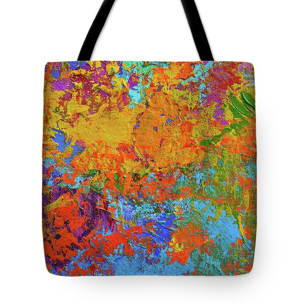 Abstract Painting Modern Art Contemporary Design Tote Bag