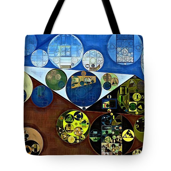 Tote Bag featuring the digital art Abstract Painting - Wood Bark by Vitaliy Gladkiy
