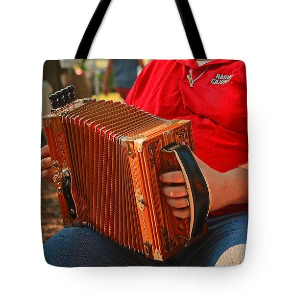 Acordian Tote Bag