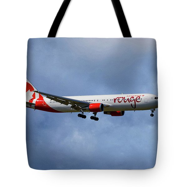 Air Canada Rouge Boeing 767-35h Tote Bag