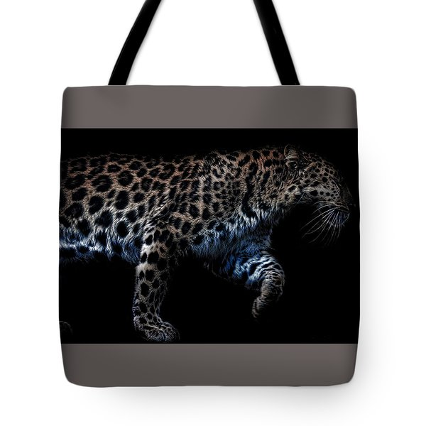 Amur Leopard Tote Bag by Martin Newman