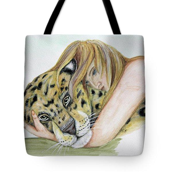 Anam Leopard Tote Bag