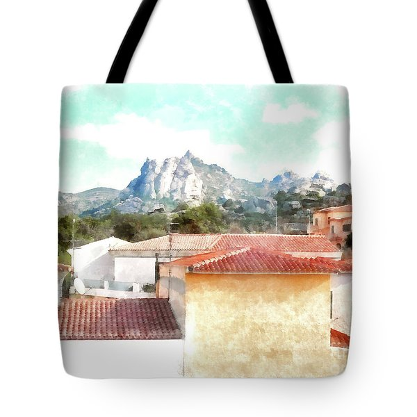 Arzachena Urban Landscape Tote Bag