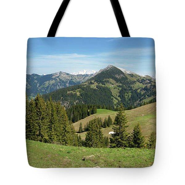 Austria Mountain - Tannheimer Tal Tote Bag