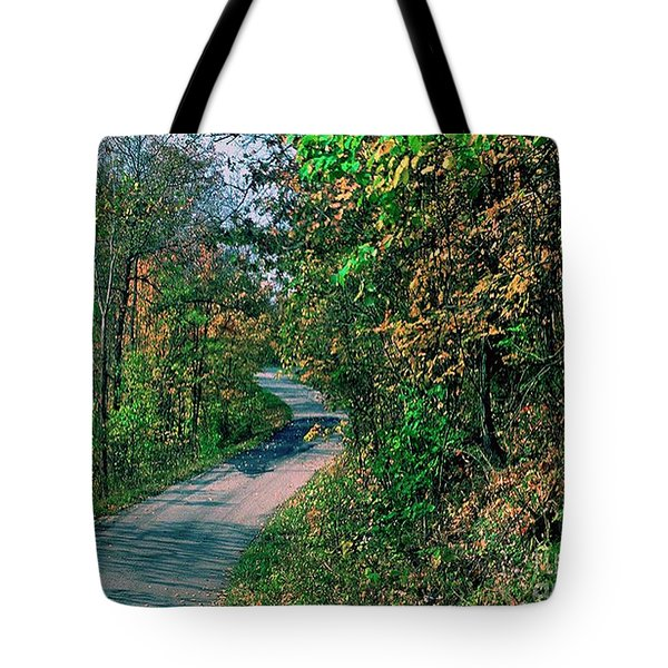 Autumn Colors Tote Bag by Gary Wonning