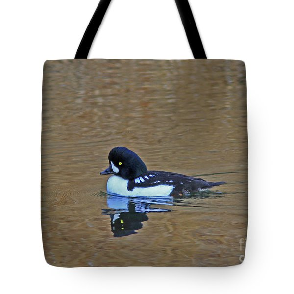 Barrow's Goldeneye Tote Bag