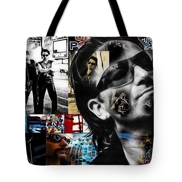 Bono Collection Tote Bag by Marvin Blaine