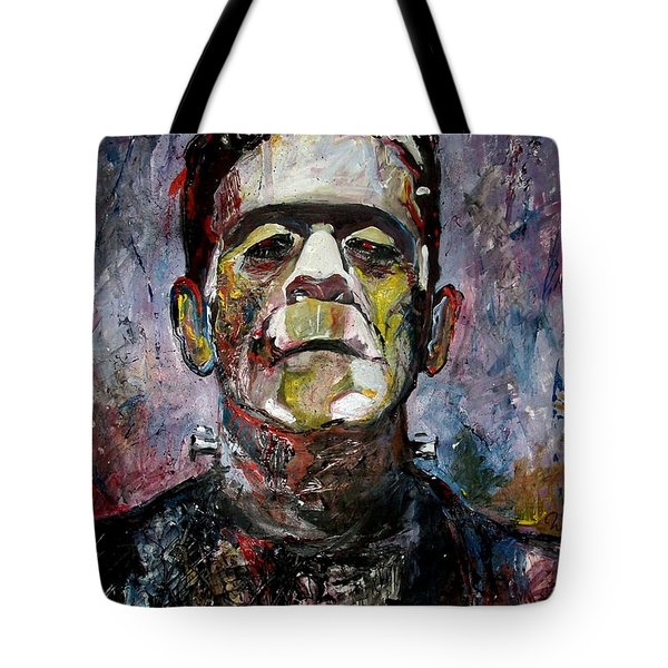 Boris Karloff Frankenstein Monster Tote Bag