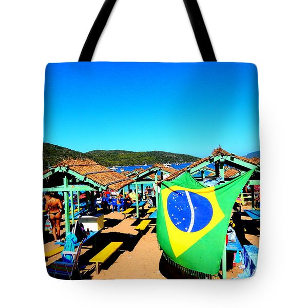 Tote Bag featuring the photograph Brazil by Beto Machado