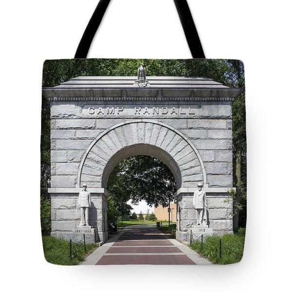 Camp Randall Memorial Arch - Madison Tote Bag