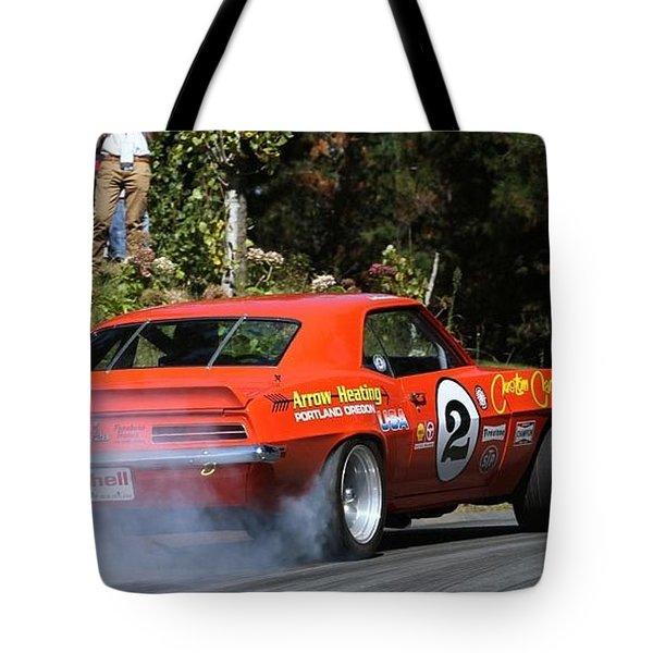 Chevrolet Camaro Tote Bag