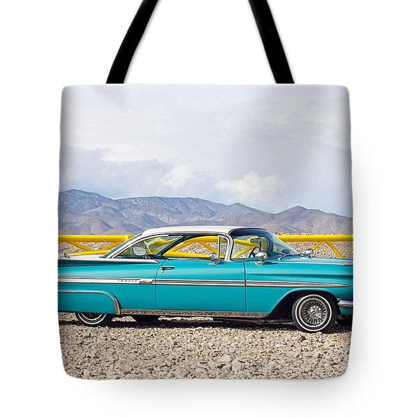 Chevrolet Impala Tote Bag