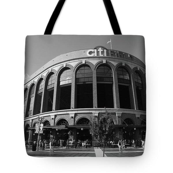 Citi Field - New York Mets Tote Bag by Frank Romeo